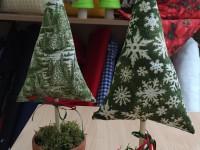 Weihnachtsbäumchen aus Stoff