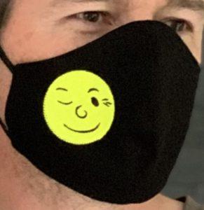 Maske mit dem Kuppinger Mond