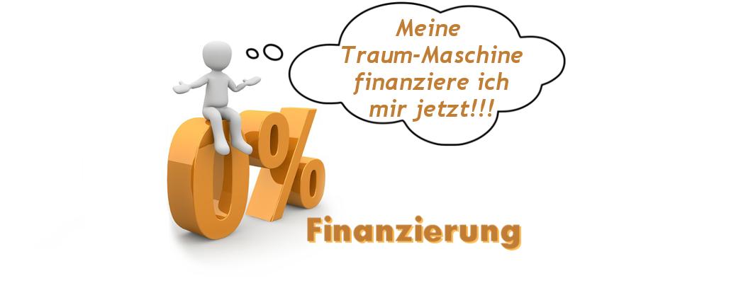 Nähmaschine ab 0% finanzieren