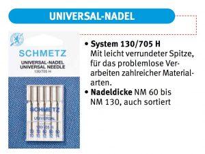 Schmetz Universal-Nadel