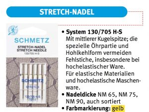Schmetz Stretch-Nadel