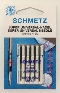 Schmetz Super Universal-Nadel H-SU mit Antihaft Beschichtung