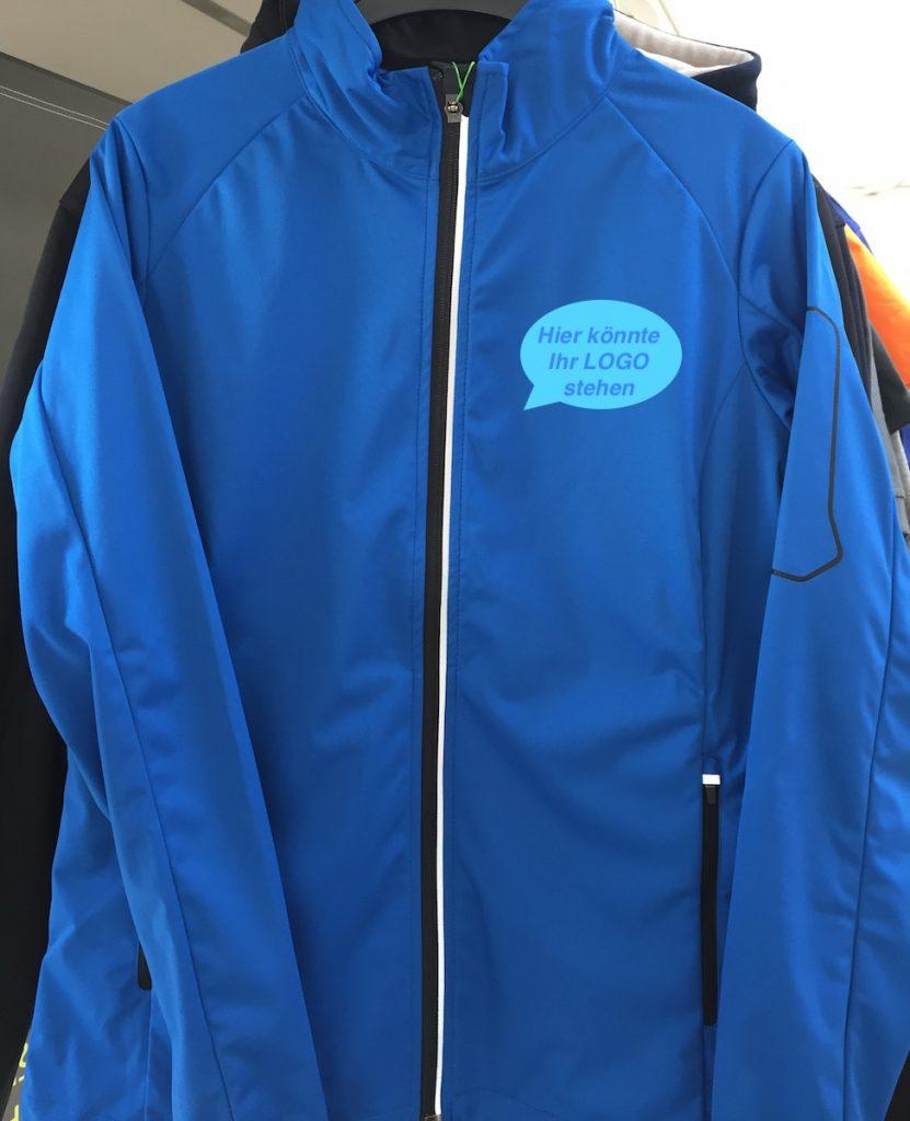 Hakro Softshell-Jacke blau