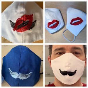 Maskenauswahl